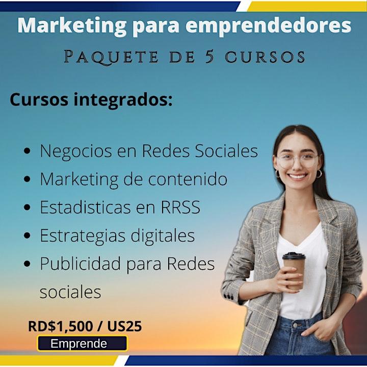 Imagen de Marketing para emprendedores