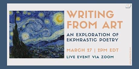 Writing from Art: An Exploration of Ekphrastic Poetry tickets