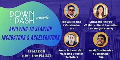 Applying to Startup Incubators & Accelerators