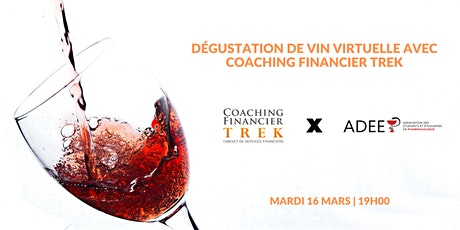 Dégustation de vin avec Coaching Financier TREK | ADEEP billets