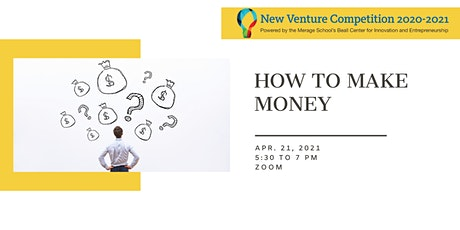 2021 New Venture Competition Workshop #8 tickets