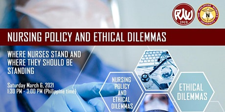 """PWU PhD in Nursing Virtual Event: """"Nursing Policies and Ethical Dilemmas"""" tickets"""