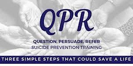 QPR - Suicide Prevention Training tickets