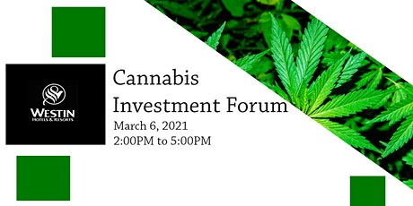 Cannabis Investor Forum tickets