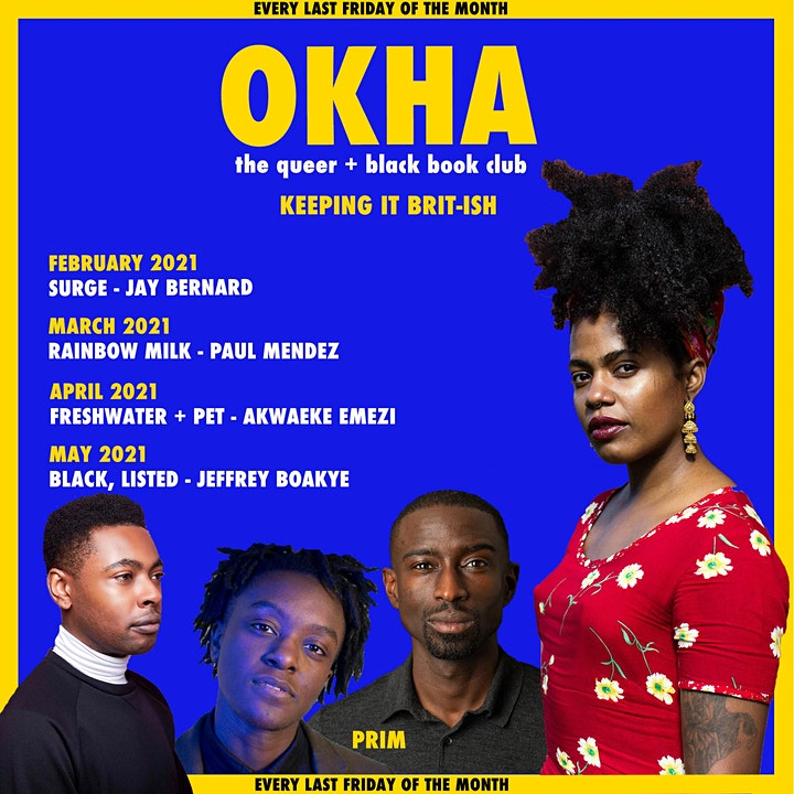 OKHA , the queer + Black book club image