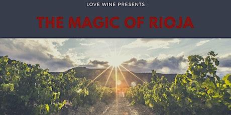 Online wine tasting - the magic of Rioja tickets