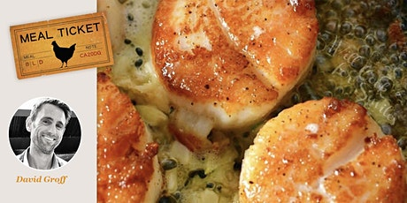 MealticketSF presents your Private Live Cooking Class  - Seared Scallops! tickets