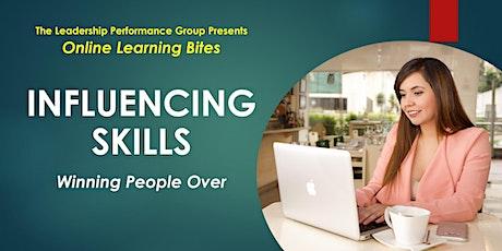 Winning People Over: Influencing Skills (Online - Run 16) tickets
