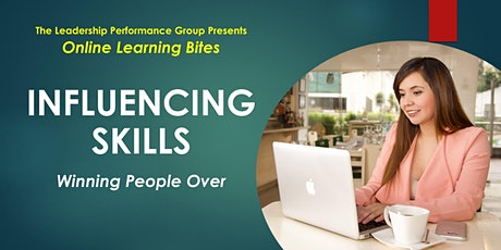 Winning People Over: Influencing Skills (Online - Run 16) tickets