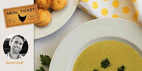 MealticketSF Private Live Cooking Class  - Asparagus Soup. Cheese Gougeres. tickets