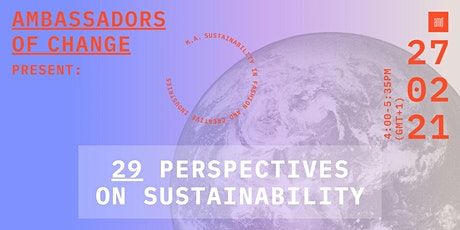 Ambassadors of Change: 29 Perspectives on Sustainability Tickets