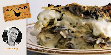 MealticketSF  Private Live Cooking Class Mushroom and Artichoke Lasagna tickets