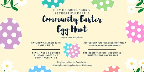 Community Easter Egg Hunt 2021 tickets