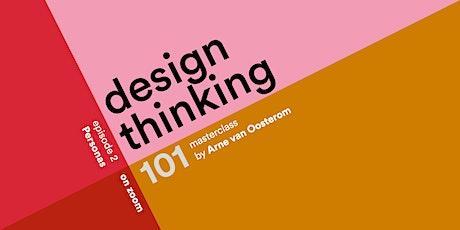 Design Thinking 101 - Personas tickets