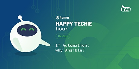 "Happy Techie Hour ""IT Automation: why Ansible?"" bilhetes"