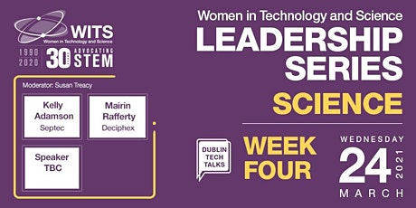 WITS Female Leadership Series - Session 4 Science Tickets