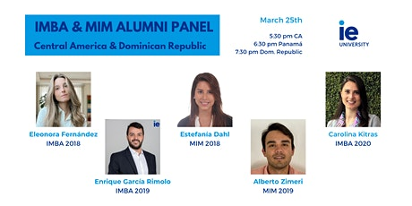 A Conversation with IE Central America & Dominican Republic Alumni tickets