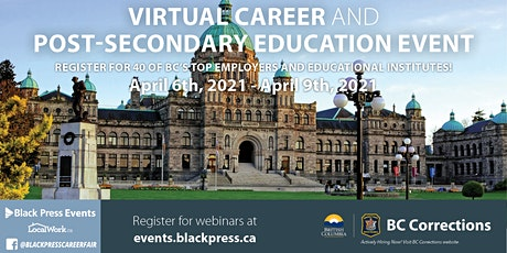 Greater Victoria Virtual Career & Post-Secondary Education Event tickets