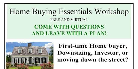 Home Buying Essentials Workshop bilhetes