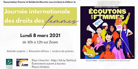 Célébrons la Journée internationale des droits des femmes tickets