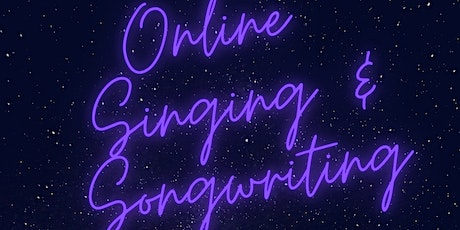 Online Singing and Songwriting session for children and adults tickets