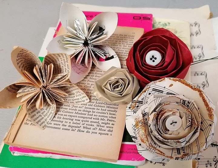 Digital Craft Festival: Paper Flower Make Along with Jennifer Collier image