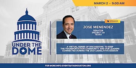 TAG Under the Dome- Senator Jose Menendez tickets