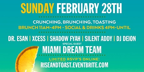TODAY! RISE AND TOAST #1 CARIBBEAN SUNDAY BRUNCH | THE URBAN tickets