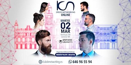 KCN Las Palmas SPEED NETWORKING. Multiplica tu Red de Contactos. 2 Mar entradas