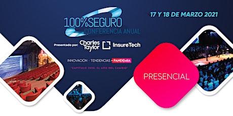 Conferencia Anual 100%SEGURO - Teatro Ópera entradas