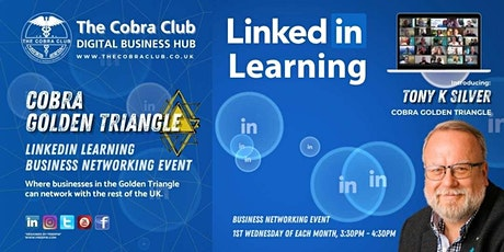 LinkedIn Learning, Business Networking Event,  Slough, Windsor biglietti
