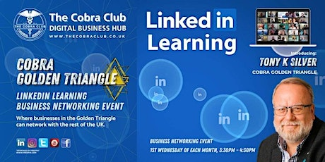 LinkedIn Learning, Business Networking Event,  Slough, Windsor tickets