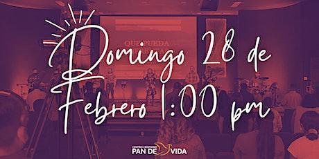 Servicio Domingo 28 de Febrero tickets