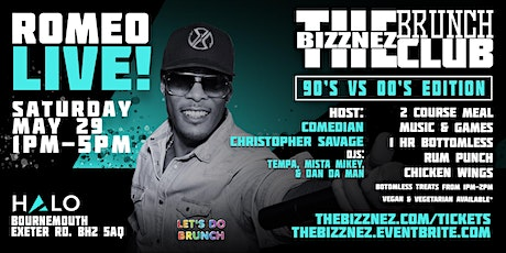 The Bizznez Brunch Club, 90s vs 00s Edition | Saturday May 29 tickets