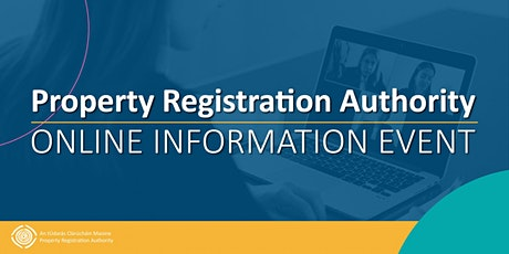Property Registration Authority - Online Information Event tickets