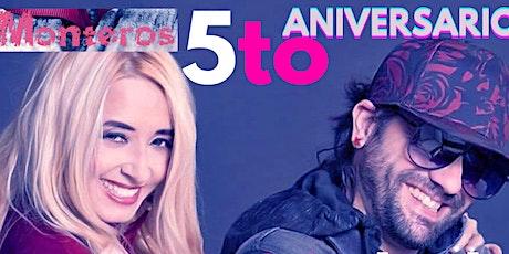"""Monteros """"5to Aniversario"""" en concierto. tickets"""