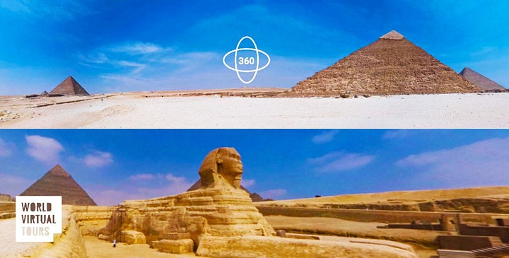 Pyramids and Egyptian Museum: Ancient Egypt Virtual Tour image