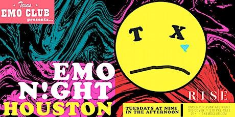 EMO NIGHT HOUSTON tickets