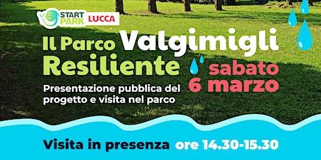 Start Park LUCCA ❙  Presentazione pubblica del progetto e visita nel parco biglietti