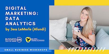Digital Marketing: Understanding & Using Data Analytics by Jess LeMerle tickets