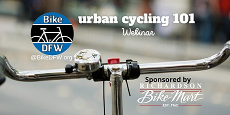 BikeDFW Urban Cycling 101 Webinar tickets