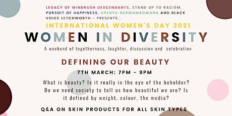 Women In Diversity - Defining Our Beauty tickets