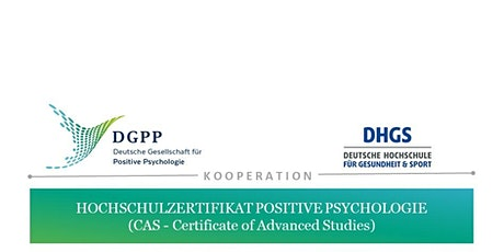 Infoabend Hochschulzertifikat Positive Psychologie | DGPP und DHGS Tickets