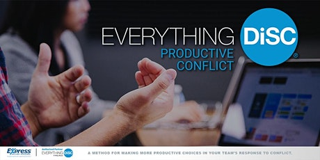 Productive Conflict Live Virtual Training tickets