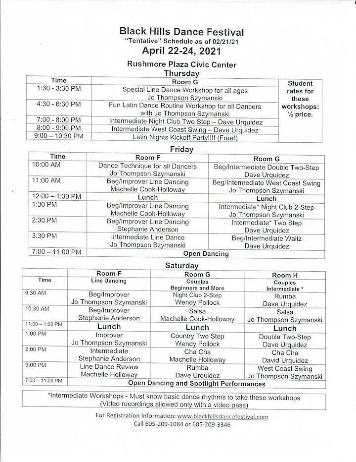 25th Black Hills Dance Festival 2021 image
