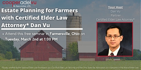 Estate Planning for Farmers tickets