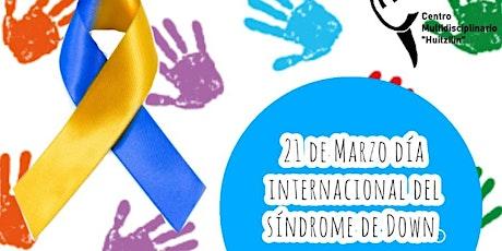 Taller día internacional del síndrome de Down entradas