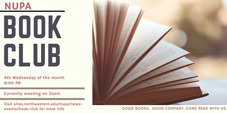 NUPA Book Club tickets