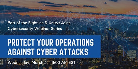 Protect Your Operations Against Cyber Attacks tickets
