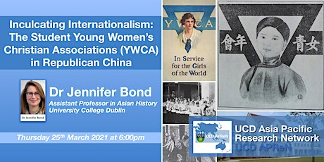 Inculcating Internationalism:  Student YWCA in Republican China tickets